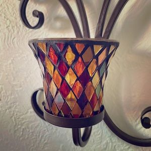 Set of 2 Candle Sconces